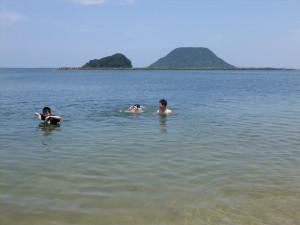 夏)生活海水浴